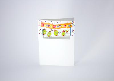 Greeting Card Printing Die Cut Olive Us