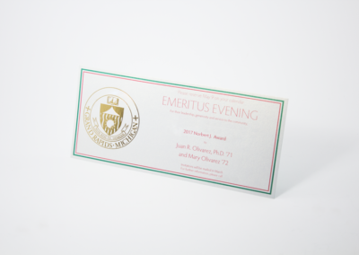 Postcard Printing and Mailing Spot Color and Foiled