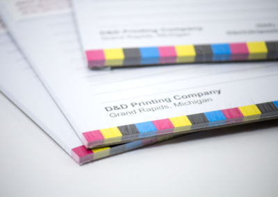 Foil Business Cards and Notepad Printing