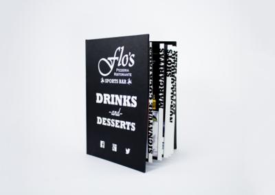 Hardcover Menu Printing Restaurant Menu Binder
