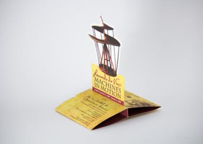 Table Tent Printing Die Cut Invitations