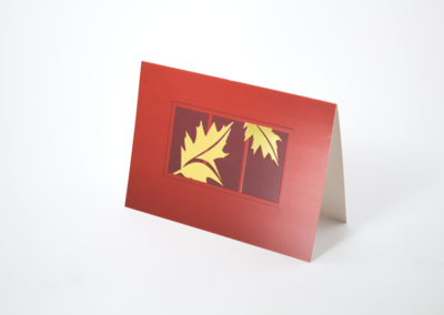 Greeting Card Printing Holiday Foil