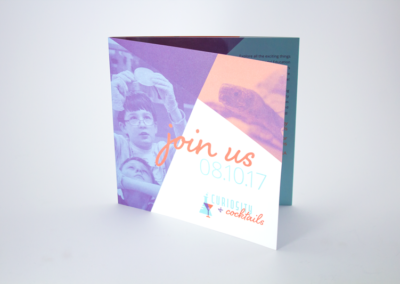 Print Invitations Trifold and Scored