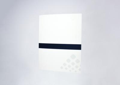 Multi Pocket Folder Printing Spot Color