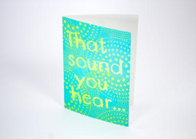 Greeting Card Printing 4 color
